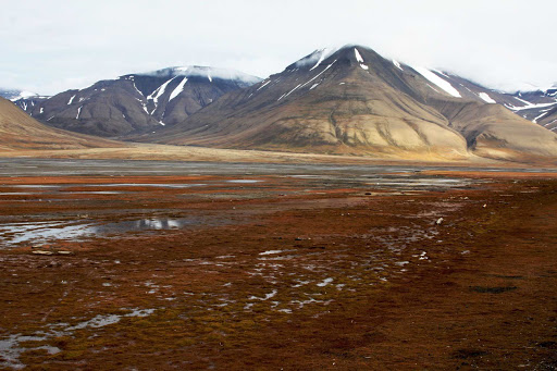 Svalbard-Norway-landscape - Guests of Hurtigruten Fram will experience the pristine, untouched landscape of Norway's Svalbard islands during their cruise.