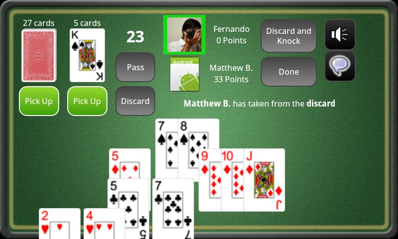Gin Rummy Online FULL - screenshot