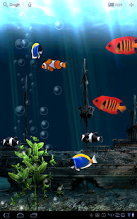 Aquarium Live Wallpaper - screenshot thumbnail