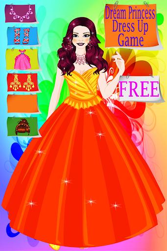 梦公主装扮游戏