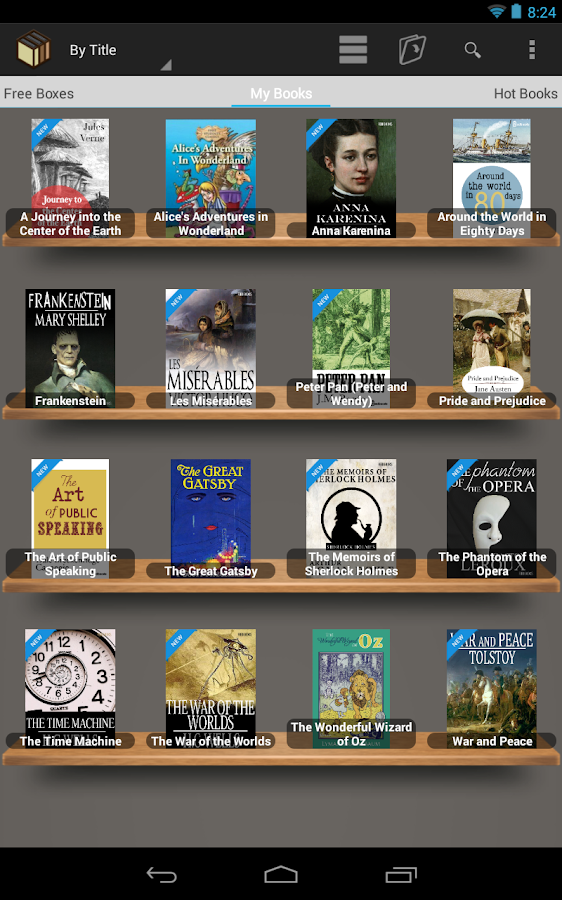 [Free e-Book] BookBox Reader - screenshot
