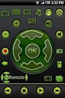 Screenshot of myRemote