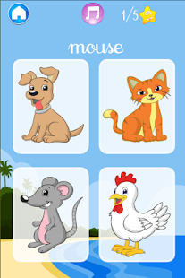 I learn Animals - for kids - screenshot thumbnail