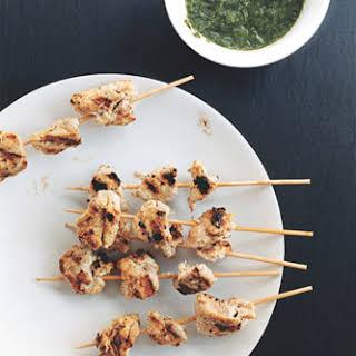 Chicken Tikkas.