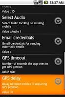 Screenshot of Phone Finder