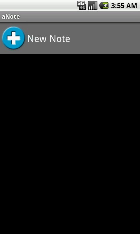 aNote- screenshot