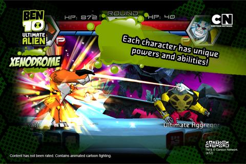 Ben 10 Xenodrome  screenshots 4