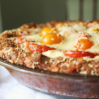 Three Cheese Tomato Pie