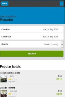 Ecuador Hotel Discount - screenshot thumbnail