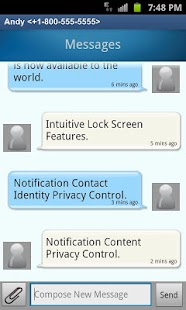 QuickTouch Text Messaging - screenshot thumbnail