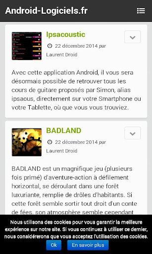 Blog Android-Logiciels.fr