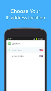 Go VPN for Android - screenshot thumbnail