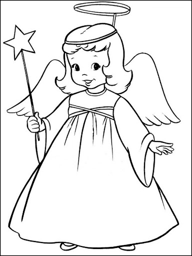 Coloring : Angel