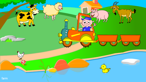 Kids Animal Game-Zoo TrainFULL