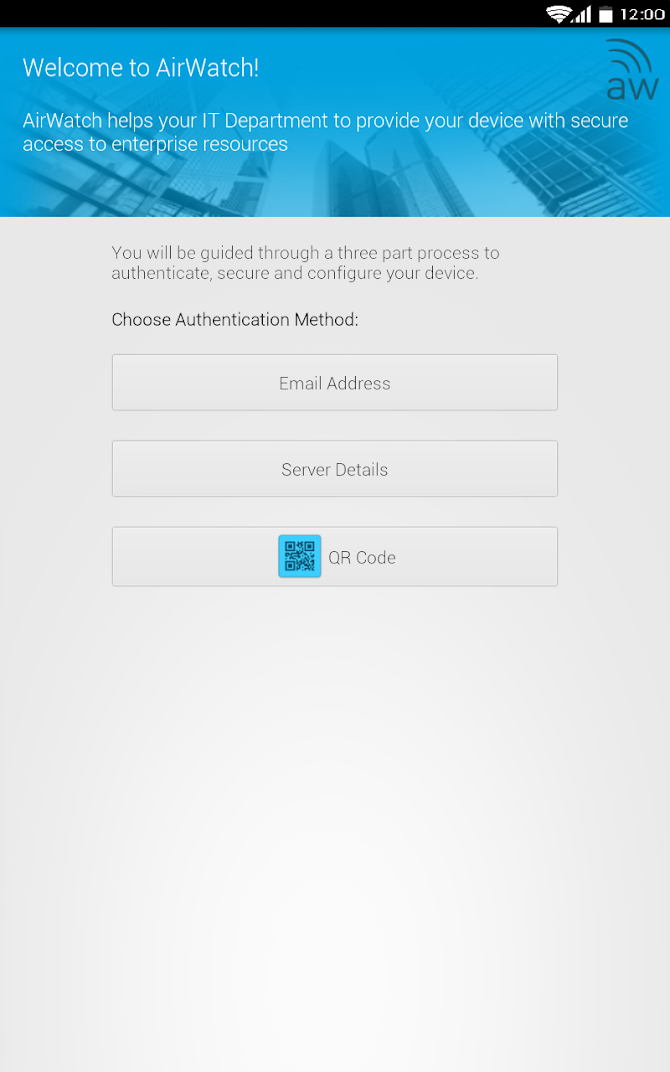 AirWatch Agent Android 9