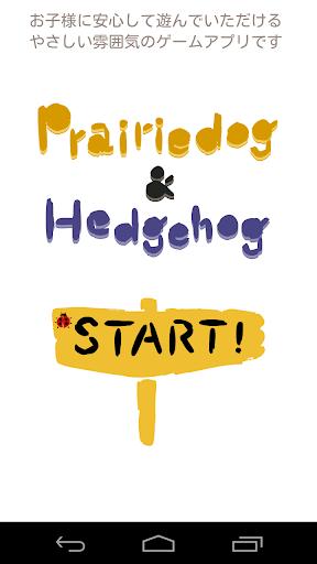 Prairiedog Hedgehog sp