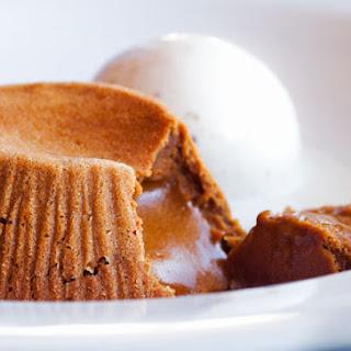 Molten Dulce de Leche Cakes.
