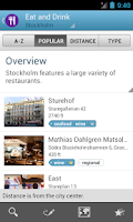 Screenshot of Stockholm Travel Guide Triposo