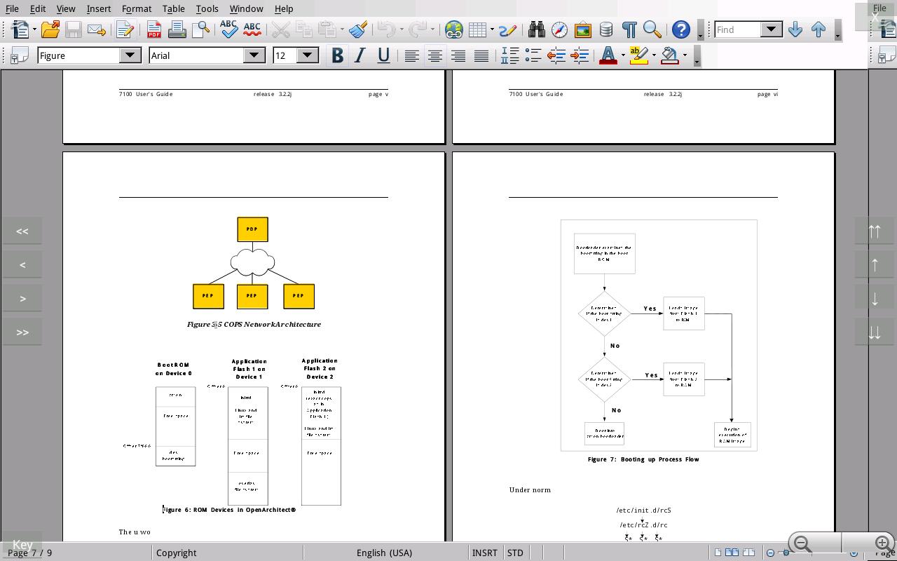 AndrOpen Office - screenshot