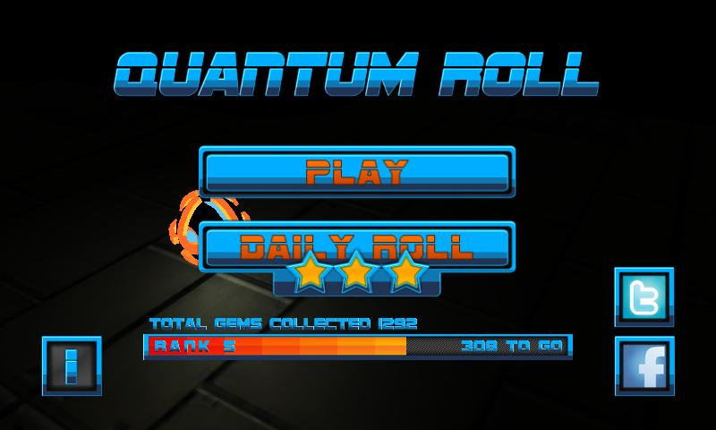 Quantum Roll- screenshot