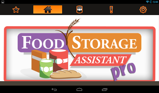 Food storage assistant pro android apps on google play for Assistant cuisine