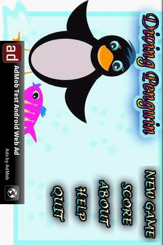 Diving Penguin - screenshot