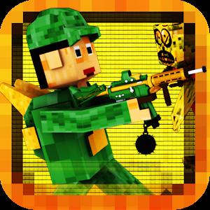 Block Zombie Pixel Highway 3D LOGO-APP點子