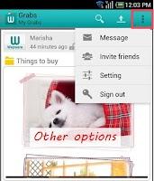 Screenshot of Wepware
