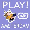 PLAY! AMSTERDAM Layar logo