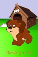 Screenshot of Talking Puppy Dog