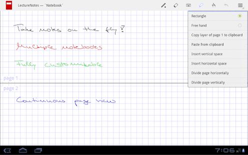 LectureNotes - screenshot thumbnail