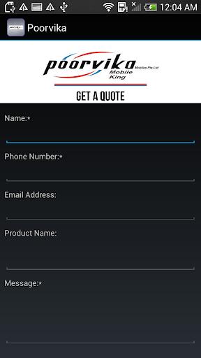 【免費商業App】Poorvika Mobiles Singapore-APP點子