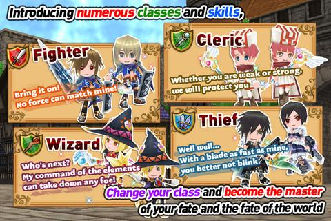 RPG Elemental Knights R (MMO)- screenshot