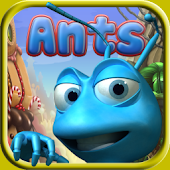 Ants - Find Food, Break Wall, Dig Pit And Survive