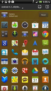 Android Jelly Bean 4.3 GoTheme - screenshot thumbnail