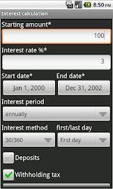 Financial Calculator Screenshot 7