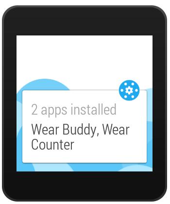 Wear Apps Tracker - screenshot