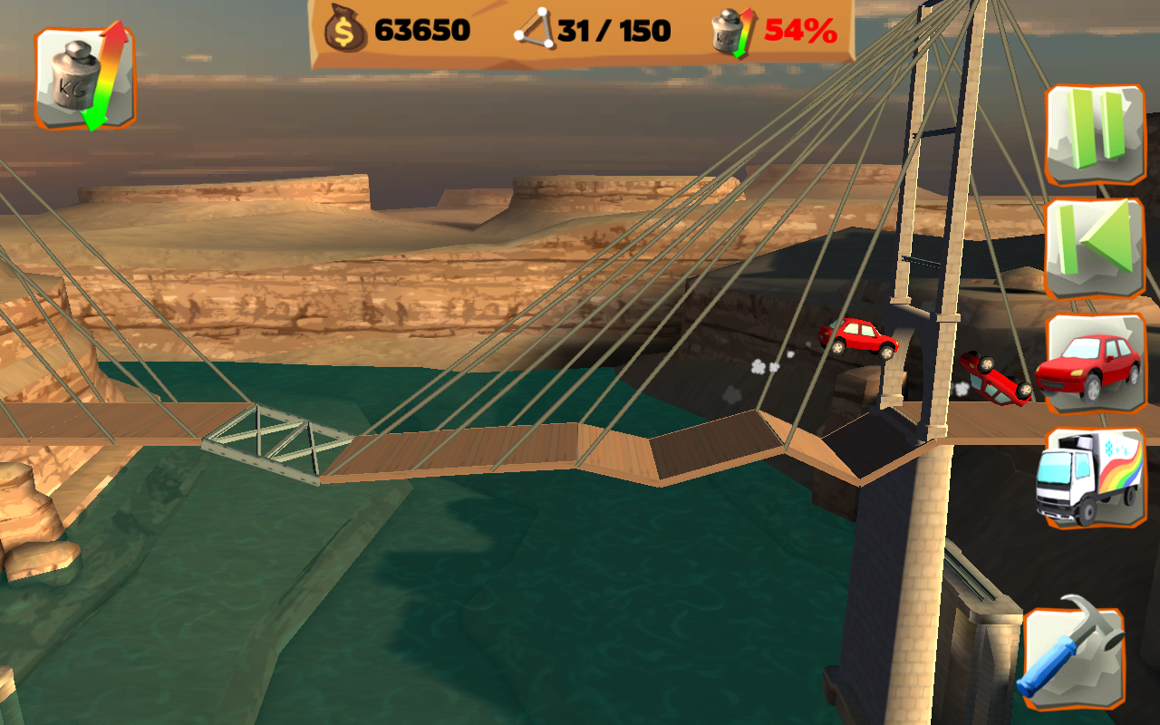 Bridge Constructor PG FREE - screenshot