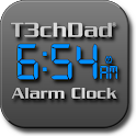 T3chDad® Alarm Clock logo