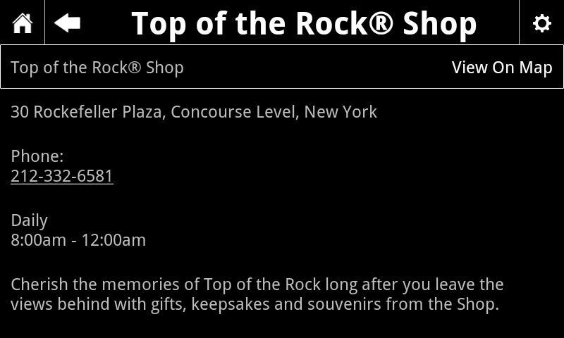 Top of the Rock - screenshot