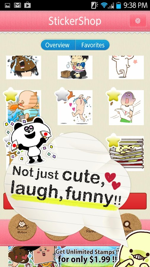 Sticker Shop for LINE Facebook - screenshot