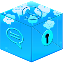 Secret Call&SMS- Chat style icon