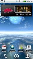Screenshot of Arkansas Clock Widget