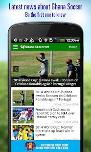 Ghana Soccer News - screenshot thumbnail