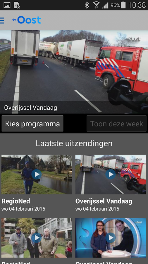 RTV Oost - screenshot