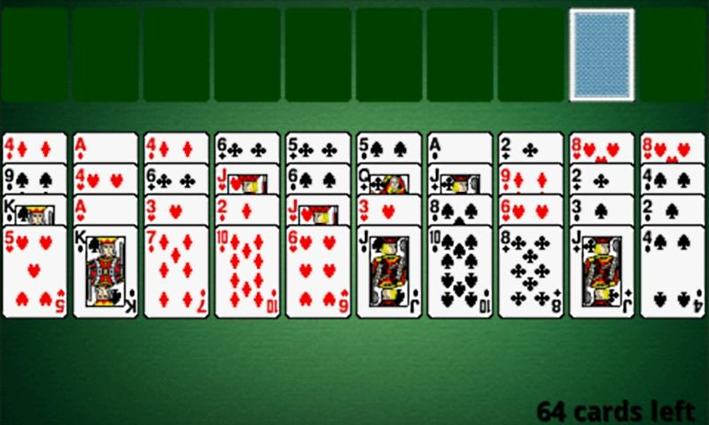 Spider Card Games - screenshot