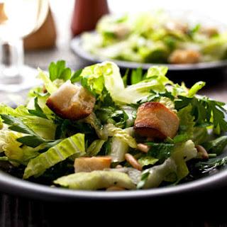 Parsley and Romaine Salad