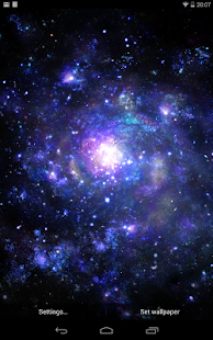 Galactic Core Free Wallpaper - screenshot thumbnail