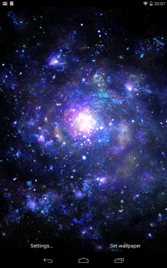 Galactic Core Free Wallpaper- screenshot