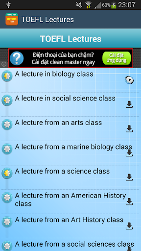 Learn TOEFL Lectures FREE